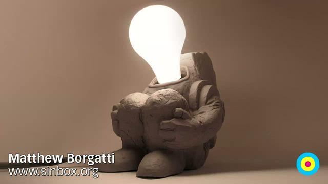 Matthew Borgatti: Spaceman Lamp / Eyebeam Open Studios: Fall 2009 / SML
