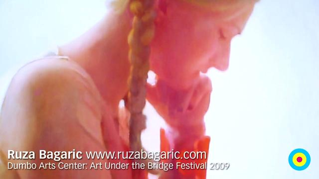 Artists on Art: Ruza Bagaric / DAC: Art Under the Bridge Festival 2009 / 2009-09-26 / SML