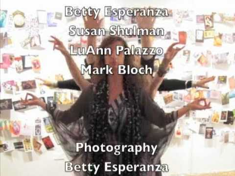 KALI Dancing at opening of A BOOK ABOUT DEATH in Long Island November 2010