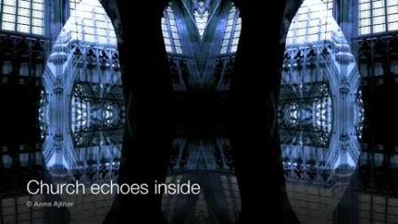 church echoes inside Photography by Anna Ajtner