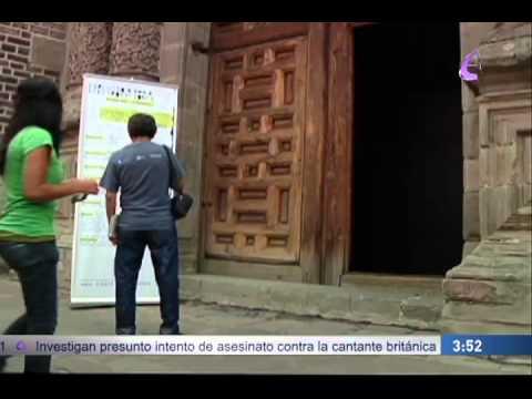 """""""El artista plástico Eder castillo presenta su obra el Guggensito"""" EfektoTV Noticas:"""