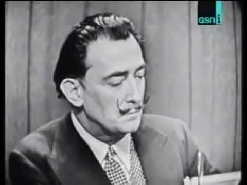 """Surreal Salvador Dali interview on """"Whats My Line"""""""