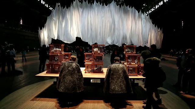 The Event Of a Thread at The Park Avenue Armory by artist Ann Hamilton