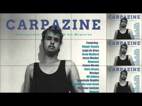 Carpazine Art Magazine Special Edition Featuring: Fernando Carpaneda!