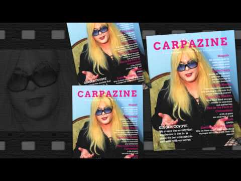 Carpazine Underground Art magazine featuring:Ginger Coyote!