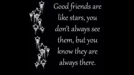 True Friendship (Discussed)