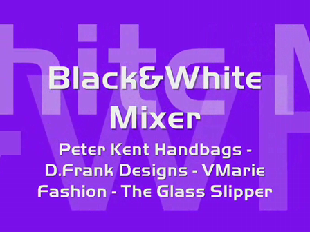 Peter Kent Handbags - D.Frank Designs Black&White Mixer