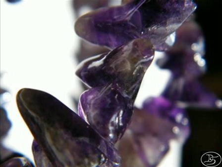 Dioses collier - Amethist crystals - Antisuyu