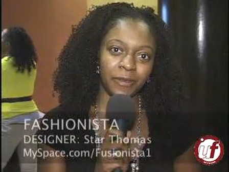 Starr Thomas interview with Urban Fashion Network