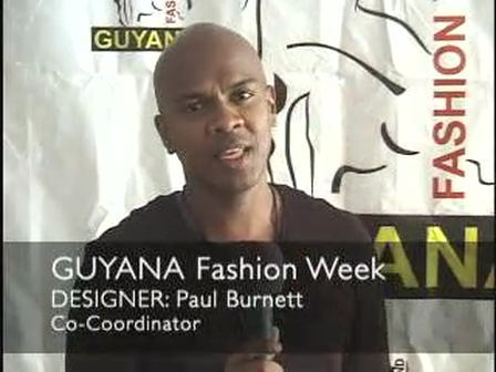 "Paul Burnett endorse ""Designer Portfolio Competition"" Guyana"