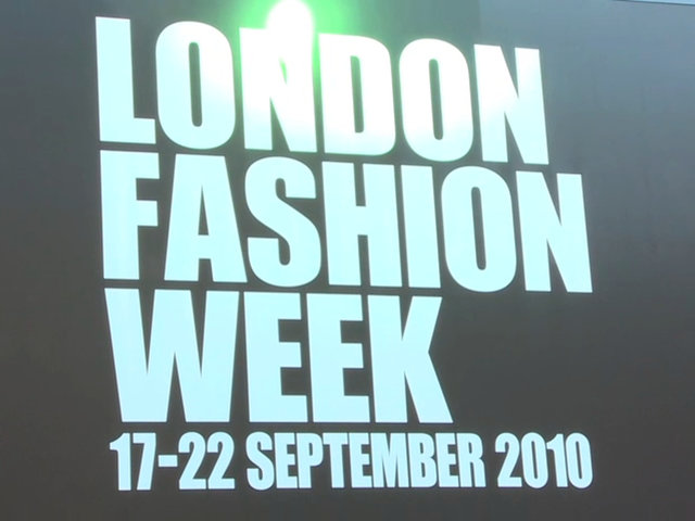 Video coverage of London Fashion Week