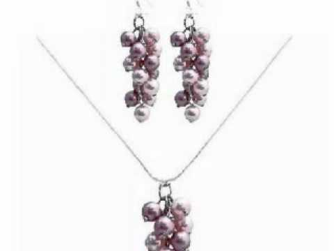 FashionJewelryForEveryone.com - Grapes Style Pearls Jewelry