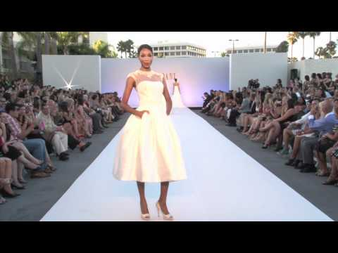 2012 Enzoani Runway Collections - BLUE