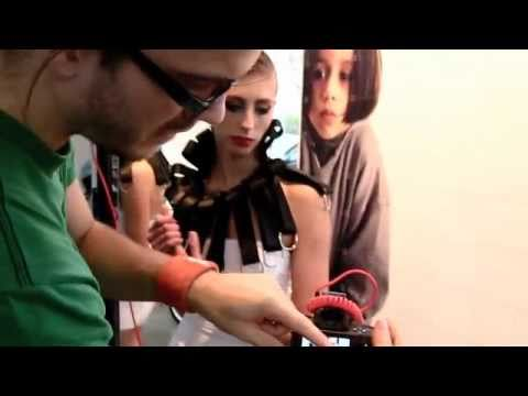Backstage footage of Collars by Sonja Ayal