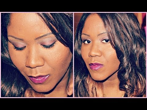 2014 Spring and Summer Makeup Tutorial - Plum Vixen Featuring Revlon Colorburst Matte Balm Shameless