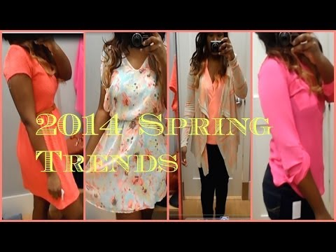 2014 Spring Fashion Trends - Bold Vibrant Hues {Inside The Fitting Room at Khol's}