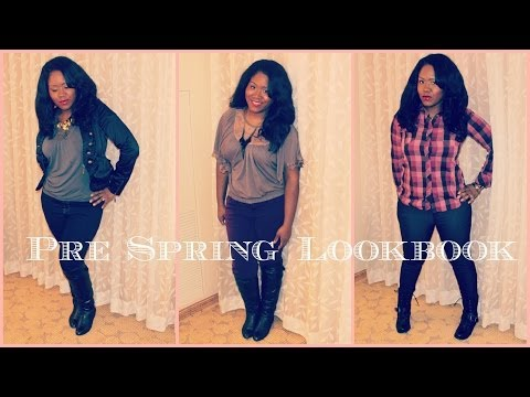 2014 Spring Lookbook - Pre Winter Into Spring Fashion