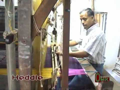 Basics of  Handloom Weaving - www.saridhoti.com