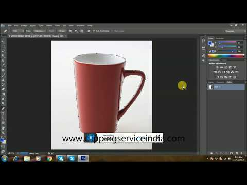 Hand made Clipping Path Service