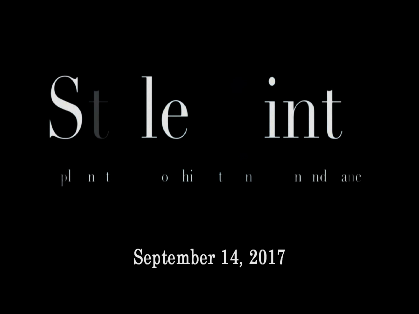 StylePointe Fashion Show Teaser