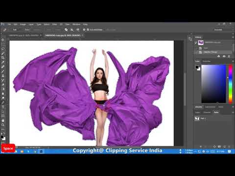Color Change on photoshop