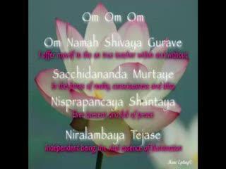 OM NAMAH SHIVAYA GURAVE