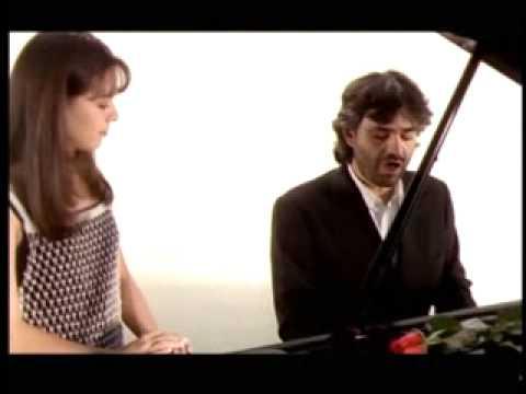 """Vivo por Ella"" Andrea Bocelli & Sandy/clip original/diretor:Marcello Bloisi-produtor:Alex Maciel."