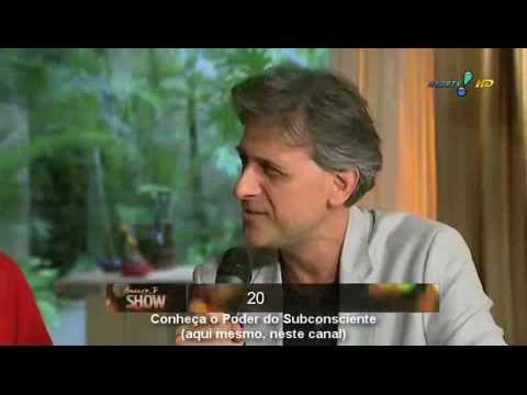 4ª parte final: 2012: Amaury Jr entrevista Anna Sharp e Oscar Quiroga - 4ª Dimensão - 4 - fim