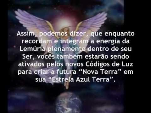 ♥ LEMÚRIA - O PARAÍSO DIMENSIONAL - Mensagem Lemurianos.