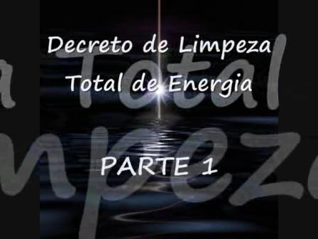 Decreto de Limpeza Total de Energia 1