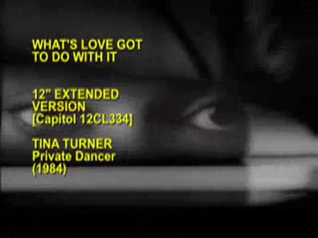 Tina Turner _ What´s love got to do with it Music Video