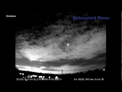 OVNI destrói meteoro sobre o céu do Japão
