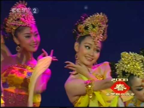 Chinese  Dance- fairs fly in sky (飛天)