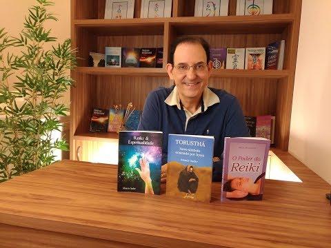 Vídeo sobre os livros de Reiki de Moacir Sader