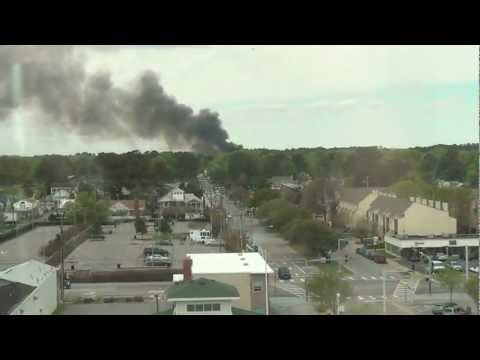 Navy F-18 Jet Crashes into Apartments in Virginia 4/6/12
