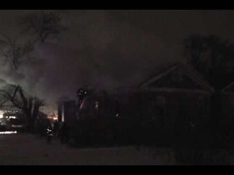 Flashover Nearly  Traps Four Gary Indiana Firefighters, Must See Video