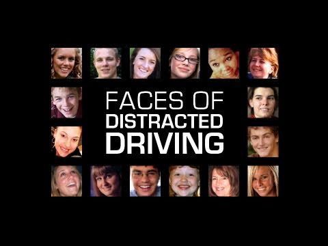 Faces of Distracted Driving: Get the Message PSA