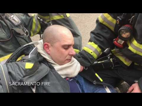 Truck 17 Downed Firefighter Training