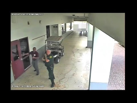 WATCH: New video shows what happened outside Parkland school shooting