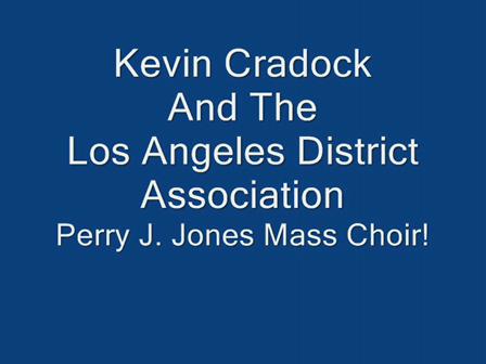 Los Angeles District Mass Choir!