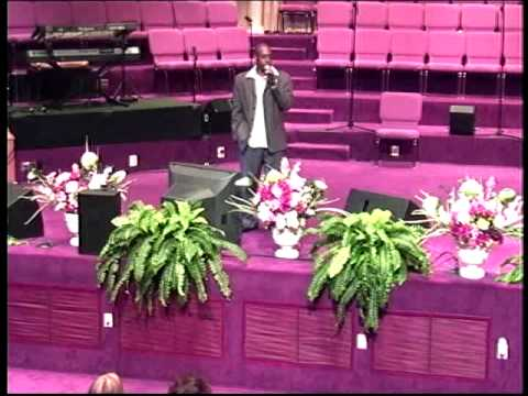 """The Music Industry Promotions """" Lights Camera & Gospel Showcase'' 2009 - End Prayer By Minister John"""