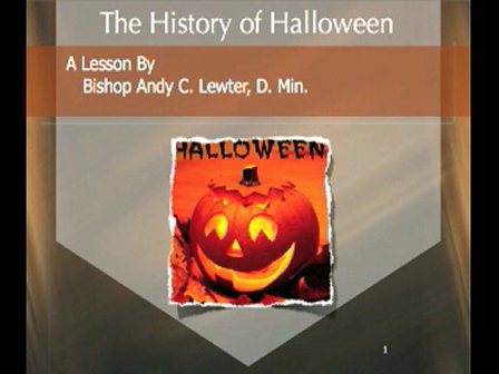 Five Minute Bible Study: The History of Halloween
