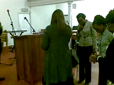 COMMISSIONING OF JESUS HEALS ABUSE