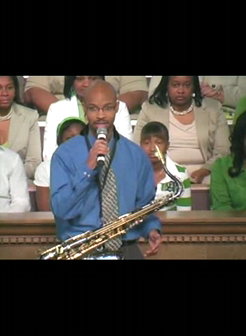 Cameron Ross-Saxophonist, Live at 2nd Baptist-Little Rock