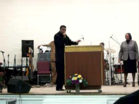 Pastor Walker in Shelby, NC