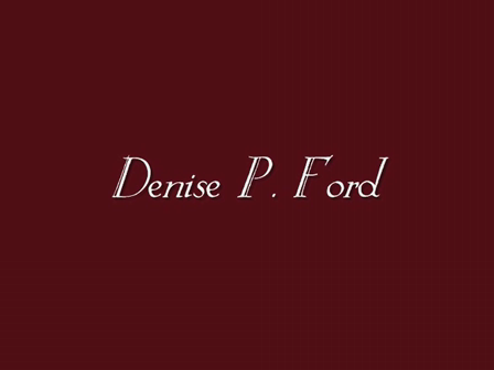 Denise P. Ford Presents - A Passion of Thorns