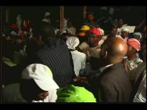Chief Apostle Dr. Lloyd Benson Sr. prays for Haiti