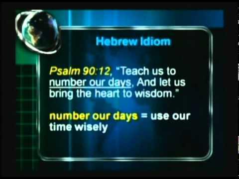 Murline Miles / What Is an Idiom? / Torah Driven Life Part 1-B