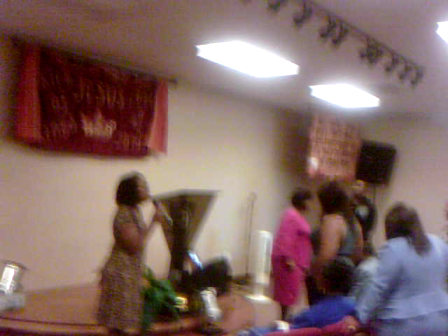 Ministering In Prayer