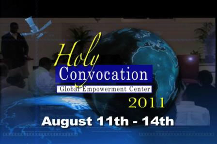 Bishop-Elect Soaries Consecration & GEC Convocation